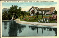 Private Swimming Pool And Home Of Doug And Mary