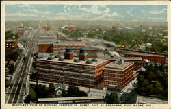 Bird's Eye View Of General Electric Co. Plant