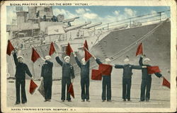 Signal Practice, Naval Training Station