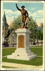 Barbour County Soldier's Memorial, Post 44 Postcard