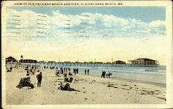 View Of Old Orchard Beach And Pier