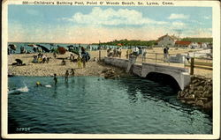 Children's Bathing Pool, Point O' Woods Beach