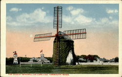 The Oldest Windmill On Cape Cod Postcard
