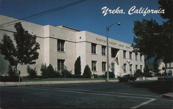The Court House Yreka California Peter A. Baccilieri