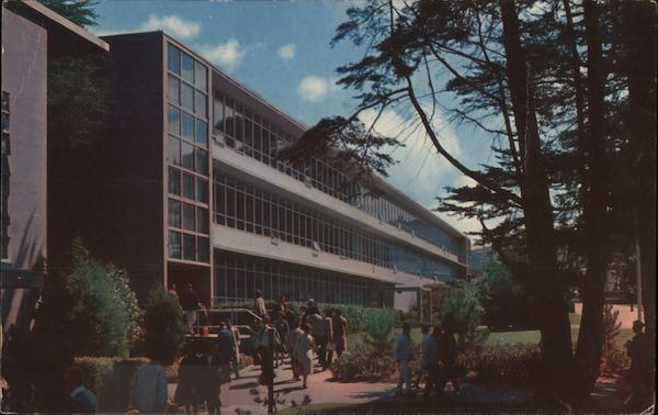 Humanities, Language and Literature Building - San Francisco State College California