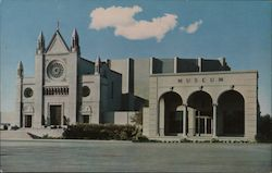 The Hall of Crucifixion and Museum Postcard