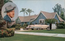Residence of Jimmy Durante Postcard