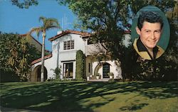 Residence of Eddie Fisher Postcard