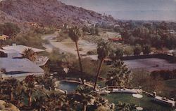 Palm Springs Tennis Club Postcard