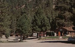 Entrance to Mono Village on Upper Twin Lake Postcard