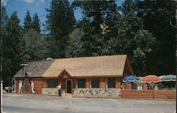 Log Cabin Cafe Postcard
