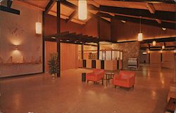 Spacious Lobby at Guenther's Murrieta Hot Springs Resort Postcard