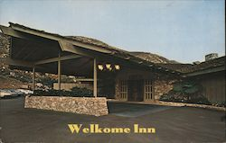 Entrance to Welkome Inn Restaurant, Lawrence Welk's Country Club Village Postcard