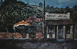 Tony's Jacal Cafe Postcard