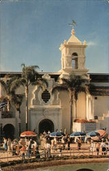 Del Mar Turf Club Postcard
