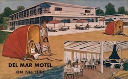 Del Mar Motel Postcard