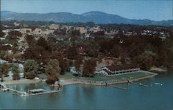 Skylark Motel & Seaplane Base Postcard