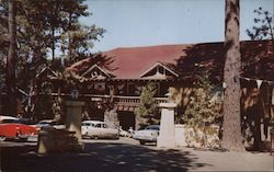 The Lodge Hoberg's Resort Postcard