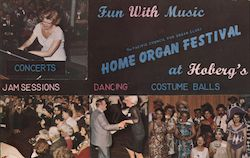 Hoberg's Resort Home Organ Festival Postcard