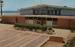 Community Center Building, Oceanside, California Postcard