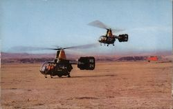 HOK Helicopters - Camp Pendleton Air Strip Postcard