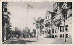 Court House (Orange County) Postcard