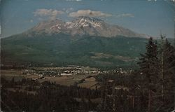 Mount Shasta City Postcard