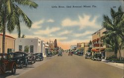 Little River, 2nd Avenue Postcard