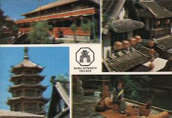 Sung Dynasty Village Postcard