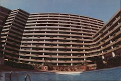 New World Hotel, Hong Kong Postcard