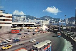 The Cross-Harbour Tunnel Postcard
