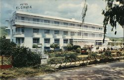 Hotel Florida in Glyfada, Greece Postcard
