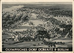 Olympic Village 1936 Postcard