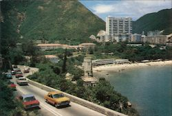 Repulse bay - One of the best and famous beach in Hong Kong. Postcard