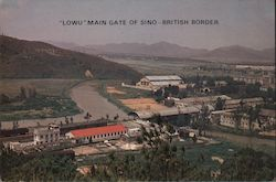"""Lowu"" Main Gate of Sino-British Border Postcard"