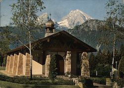 Usareur. Retreat House Chapel Postcard