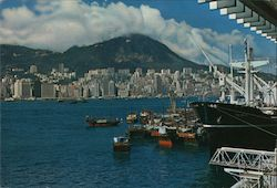 View From Kowloon: Central District Postcard