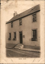 BURNS HOUSE Postcard