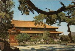 Hall of Benefaction, Ming Tombs Postcard
