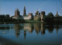 Novodevichy Convent and Cemetery Postcard