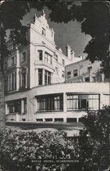 Harrogate Prospect Hotel England Railway Vintage Old Picture