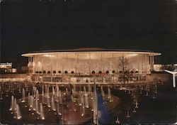 Expo 58 USA Pavilion Postcard
