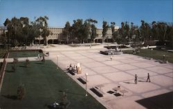 Revelle College Plaza, University of California, San Diego Postcard