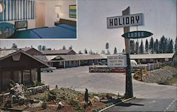 Holiday Lodge Postcard