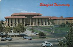 J. Henry Meyer Memorial Library, Stanford University Postcard