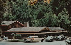 Big Sur Lodge Postcard