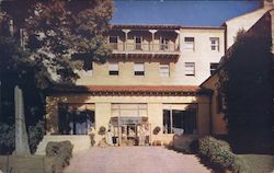 Main Entrance, International House, University of California Postcard