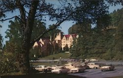 Bowles Hall, University of California Residence Hall Postcard