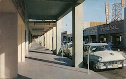 Covered Sidewalks in El Centro Postcard