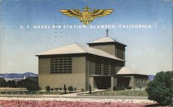 U.S. Naval Air Station Postcard
